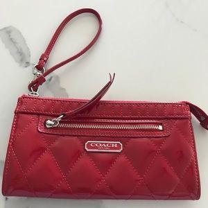 Coach Poppy Wristlet Wallet